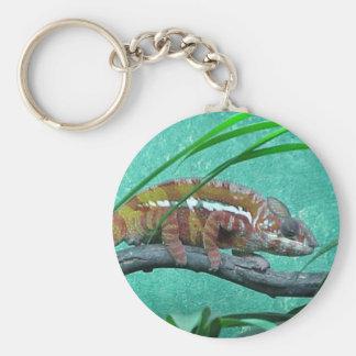 Parson's Chameleon Basic Round Button Keychain