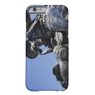 Part of the Cattle Drive sculpture in Downtown Barely There iPhone 6 Case