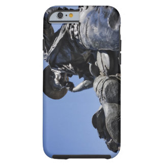 Part of the Cattle Drive sculpture in Downtown Tough iPhone 6 Case