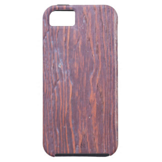 Part of the wooden door brown close-up with brass iPhone 5 case