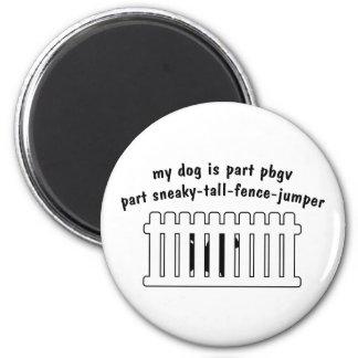 Part PBGV Part Fence-Jumper Magnet