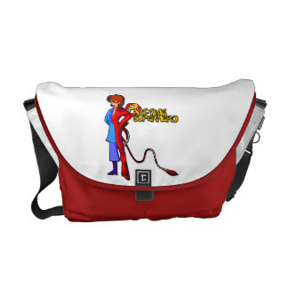 Part-Time Superhero Messenger Bag