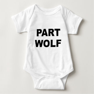 Part Wolf Baby Bodysuit