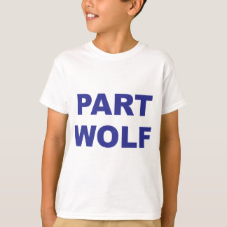 Part Wolf Blue T-Shirt