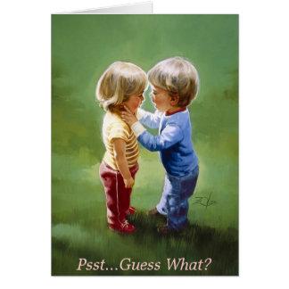 Partage des secrets carte de vœux