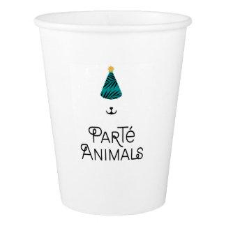 ParTé Animals paper cup