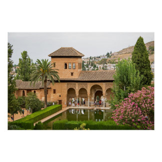 Parthal - fragment of the Alhambra Poster