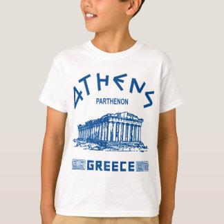 Parthenon - Athens - Greek (blue) T-Shirt