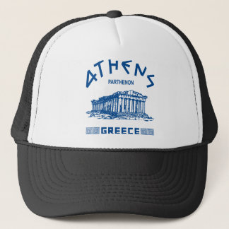 Parthenon - Athens - Greek (blue) Trucker Hat