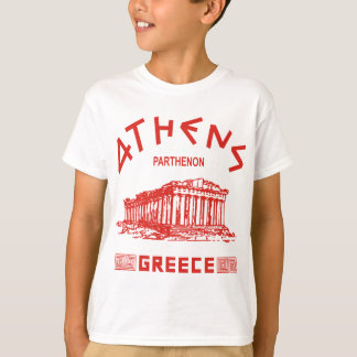 Parthenon - Athens - Greek (red) T-Shirt