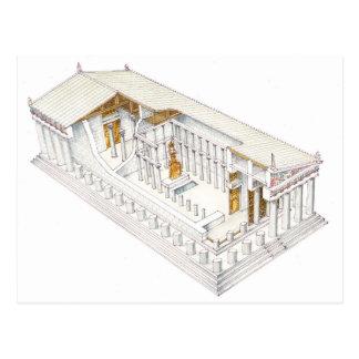 Parthenon Athens Postcard