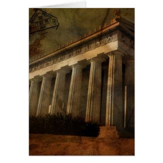 Parthenon, Temple of Athena Card