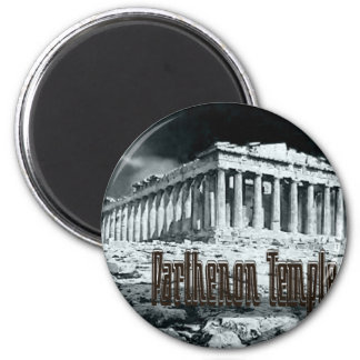 Parthenon temple series magnet