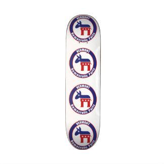 Parti démocrate du Vermont Skateboards Personnalisables