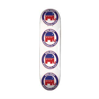 Parti Républicain de New Jersey Plateaux De Skate