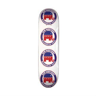 Parti Républicain du New Hampshire Plateau De Skateboard