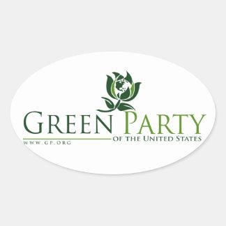 Parti Vert des Etats-Unis Adhésifs