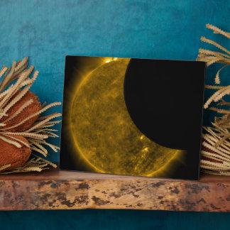 Partial Eclipse of the Sun Plaque