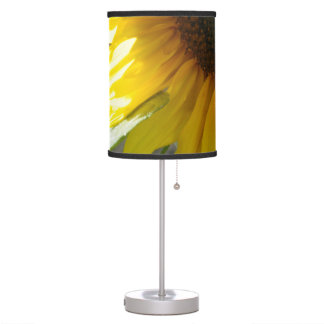 Partial Sunflower Table Lamp