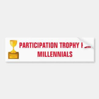 Participation Trophy for Millennials Sticker