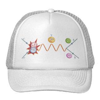 Particle Collision Trucker Hat