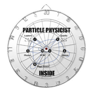 Particle Physicist Inside (Standard Model Higgs) Dartboard