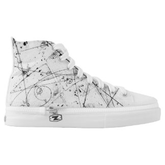 Particle physics trails high tops