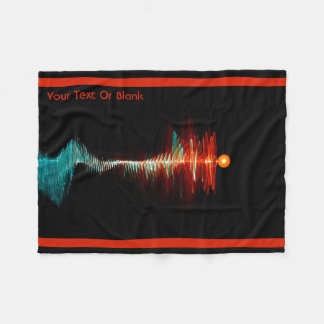 Particle-Wave Duality Fleece Blanket