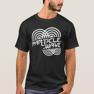 Particle Wave White T-Shirt