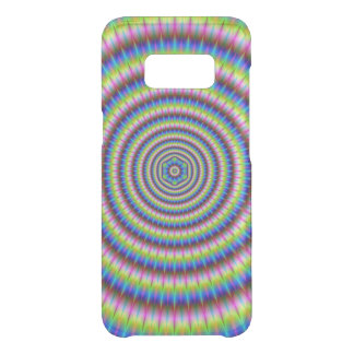 Particles and Waves with Floral Motif Uncommon Samsung Galaxy S8 Case