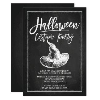 Partie de Halloween de partie de costume de Carton D'invitation 12,7 Cm X 17,78 Cm