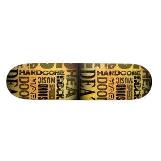 Partie de métaux lourds plateaux de skateboards