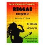 Partie de nuit de reggae ou insecte de boîte de nu prospectus personnalisés