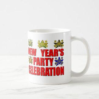 """Partie de s de nouvelle année """" tasse"""