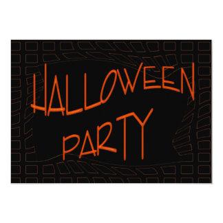 Partie heureuse de Halloween Carton D'invitation 12,7 Cm X 17,78 Cm