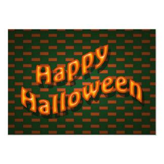 Partie heureuse de Halloween Invitations