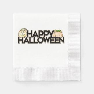 Partie heureuse de Halloween Serviette En Papier