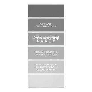 Partie moderne de pendaison de crémaillère de invitations personnalisées