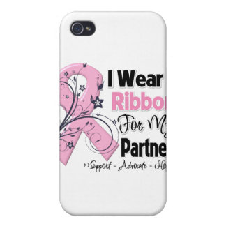 Partner - Breast Cancer Pink Ribbon Case For iPhone 4