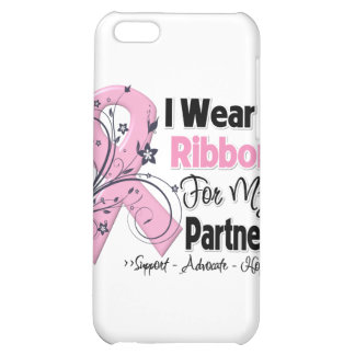 Partner - Breast Cancer Pink Ribbon Cover For iPhone 5C