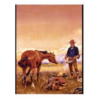 Partners', Charles M. Russell_Art of America Postcard