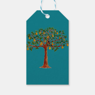 Partridge 2 in a Pear Tree Gift Tags