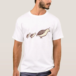 Partridge and Chicks T-Shirt