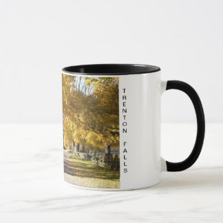 Partridge Hill Rd in Fall Mug