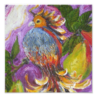 Partridge in a Pear Tree Fine Art Poster Photo
