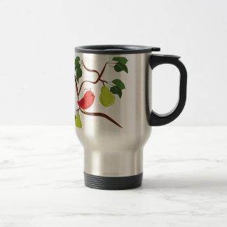 Partridge In Pear Tree Travel Mug
