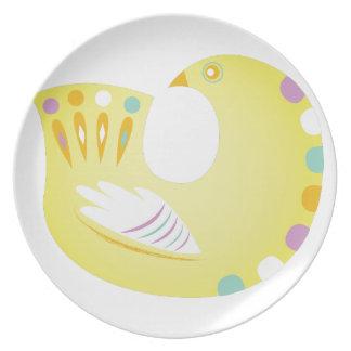 Partridge Party Plates