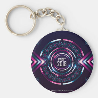 Party 2016 Album Cover Merch Basic Round Button Keychain
