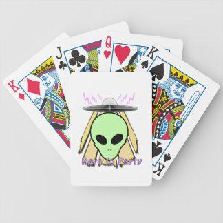 Party Ailen Poker Deck