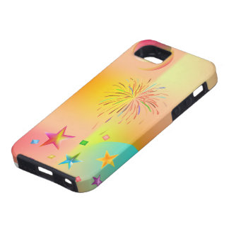 party and colors iPhone 5 covers